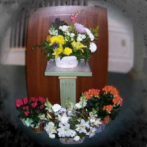 Funeral Flowers by Jennie Adams